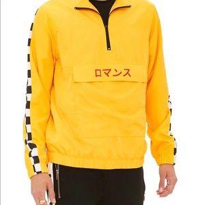 Yellow Checkered Windbreaker